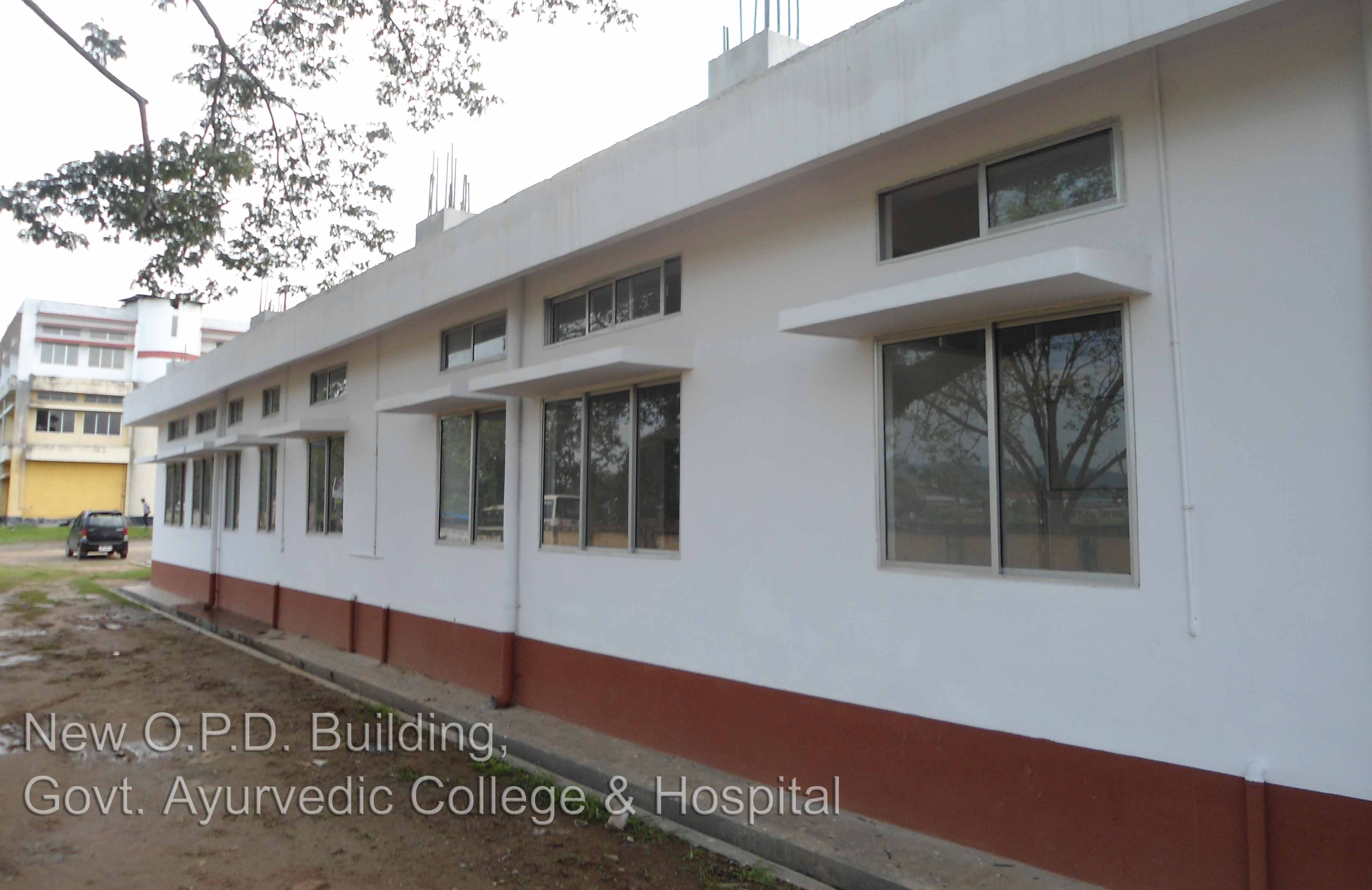 New O.P.D. Building