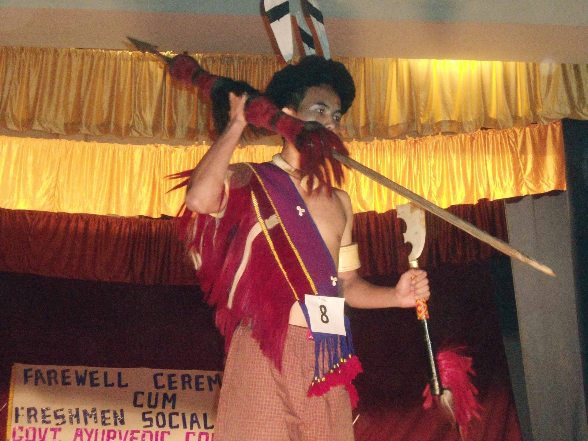 A karbi Student In Fashion Show 2011